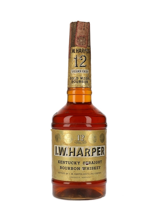 I W Harper 12 Year Old / Bot.1970s Kentucky Straight Bourbon Whiskey