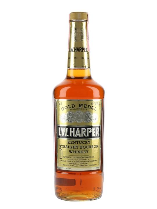 I W Harper Gold Medal / Bot.1980s Kentucky Straight Bourbon Whiskey