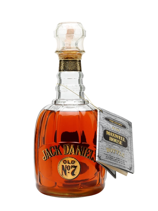 Jack Daniels  Maxwell House  Large Bottle Tennessee Whiskey