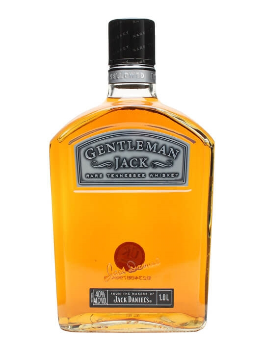 Jack Daniels Gentleman Jack  1 Litre Tennessee Whiskey