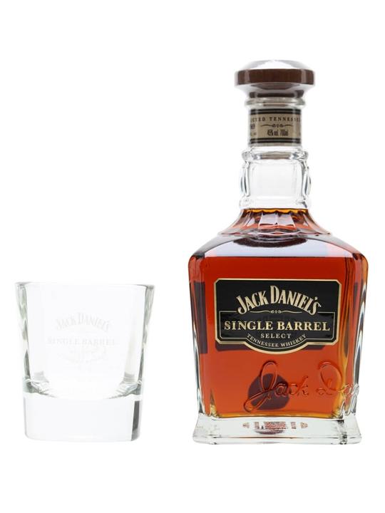 Jack Daniel's Single Barrel & Tumbler Pack Tenessee Whiskey