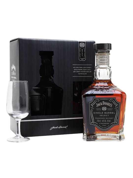 Jack Daniel's Single Barrel Nosing Glass Pack Tennessee Whiskey