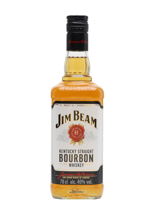 Jim Beam White Label Kentucky Straight Bourbon Whiskey