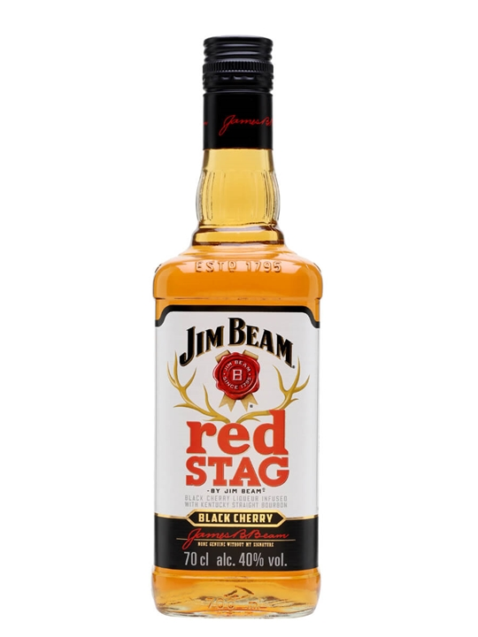 Jim Beam Red Stag / Black Cherry Kentucky Straight Bourbon Whiskey