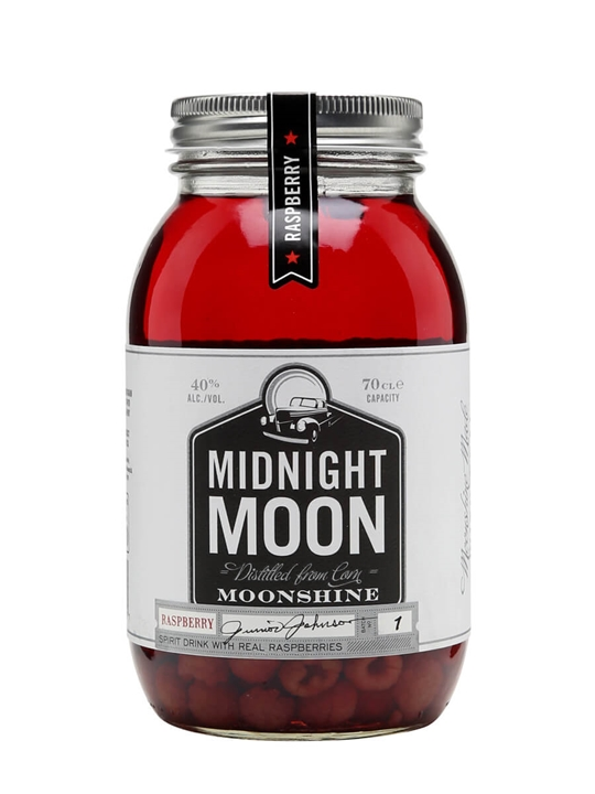Midnight Moon Raspberry Moonshine / Junior Johnson's
