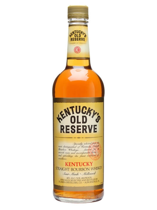 Kentucky Old Reserve Bourbon Kentucky Straight Bourbon Whiskey