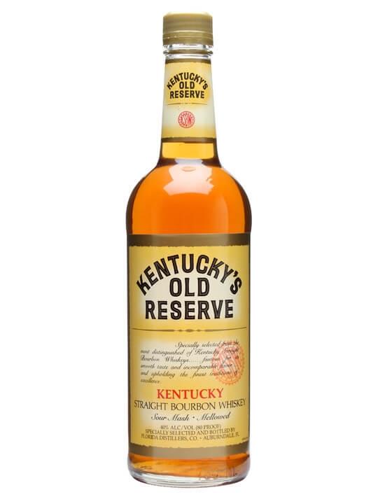 Kentucky Old Reserve Bourbon Kentucky Straight Bourbon Whiskey