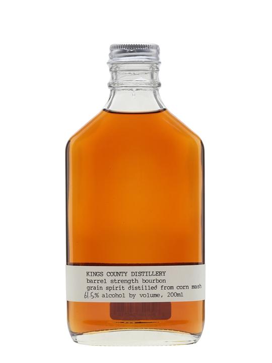 Kings County Barrel-strength Bourbon American Whiskey