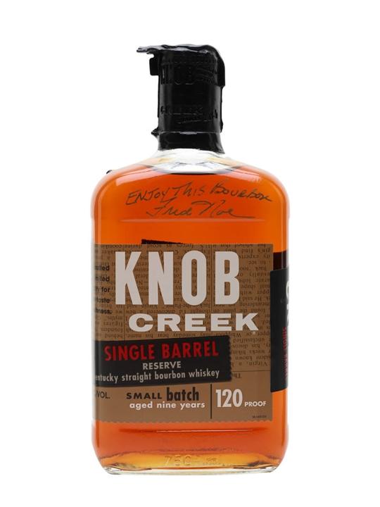 Knob Creek Single Barrel Reserve 9 Year Old