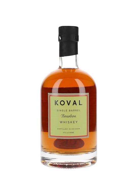 Koval Bourbon American Single Barrel Bourbon Whiskey