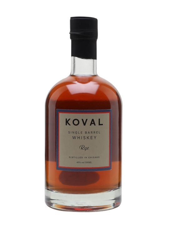 Koval Rye Whiskey American Single Barrel Rye Whiskey