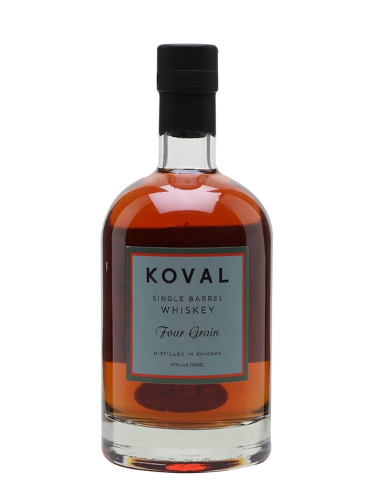 Koval Four Grain Whiskey American Single Barrel Whiskey