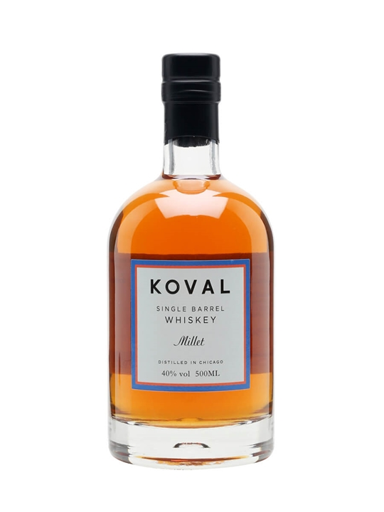 Koval Millet Whiskey American Single Barrel Millet Whiskey
