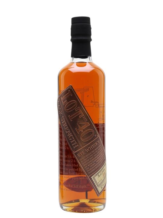 Lot 40 Cask Strength Rye Canadian Rye Whisky