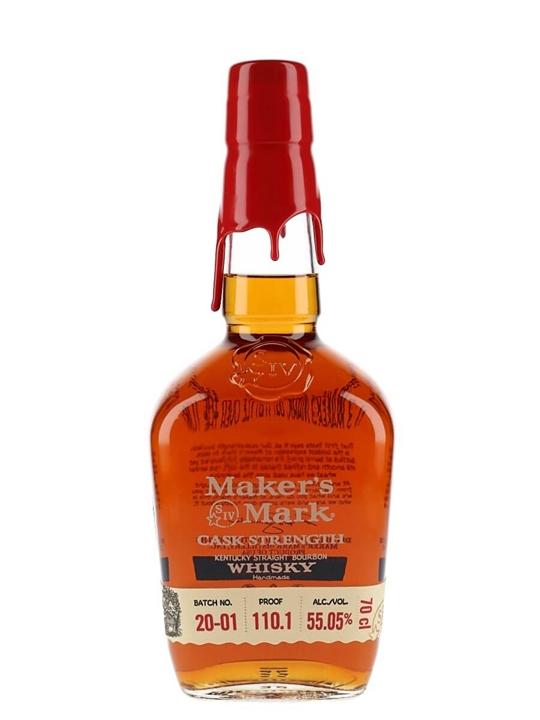 Maker's Mark Cask Strength (55.05%) Kentucky Straight Bourbon Whiskey