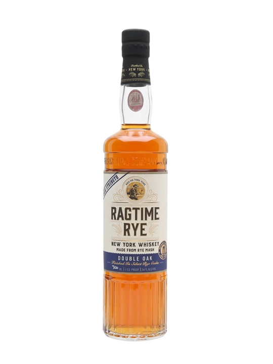New York Ragtime Rye Double Oak Cask Strength American Rye Whiskey