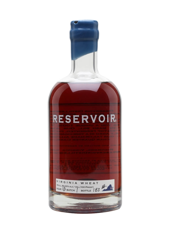 Reservoir Wheat Whiskey Virginia Wheat Whiskey