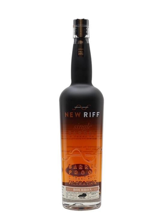 New Riff Single Barrel / Barrel Proof Bourbon (55.8%)