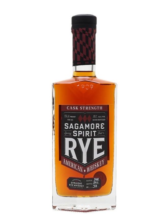 Sagamore Signature Cask Strength Rye American Rye Whiskey