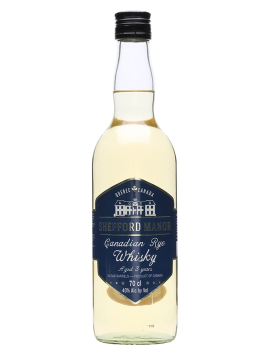 Shefford Manor 3 Year Old Canadian Rye Whisky Canadian Rye Whisky
