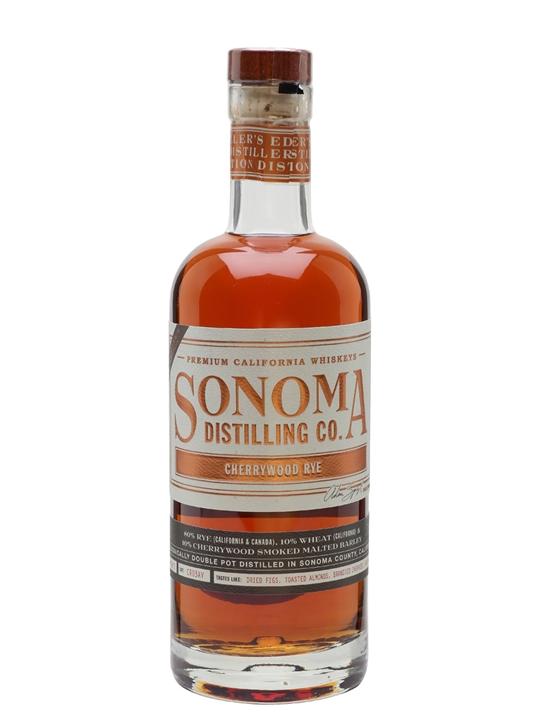 Sonoma County Cherrywood Rye American Rye Whiskey