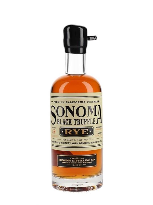 Sonoma County Black Truffle Rye / Half Bottle Rye Whiskey