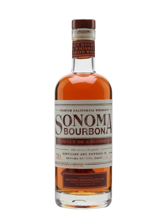 Sonoma Bourbon California Bourbon Whiskey