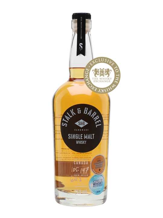 Stalk & Barrel Single Malt Whisky Cask Strength Canadian Whisky