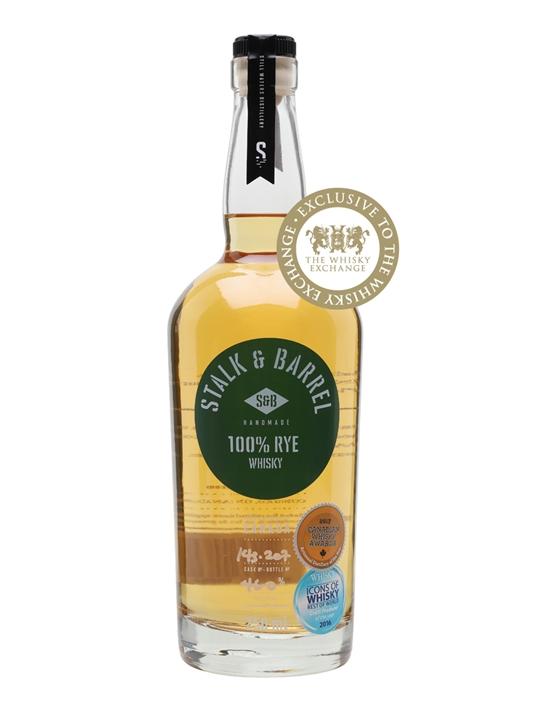 Stalk & Barrel Rye Whisky Canadian Rye Whisky