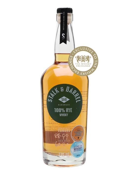 Stalk & Barrel Rye Whisky Cask Strength Canadian Rye Whisky