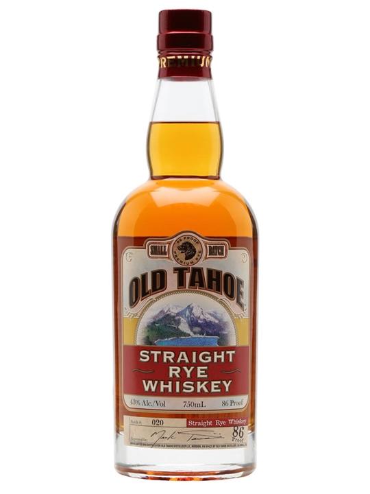 Old Tahoe Straight Rye Whiskey Straight Rye Whiskey