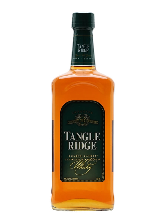 Tangle Ridge 10 Year Old Blended Canadian Whisky