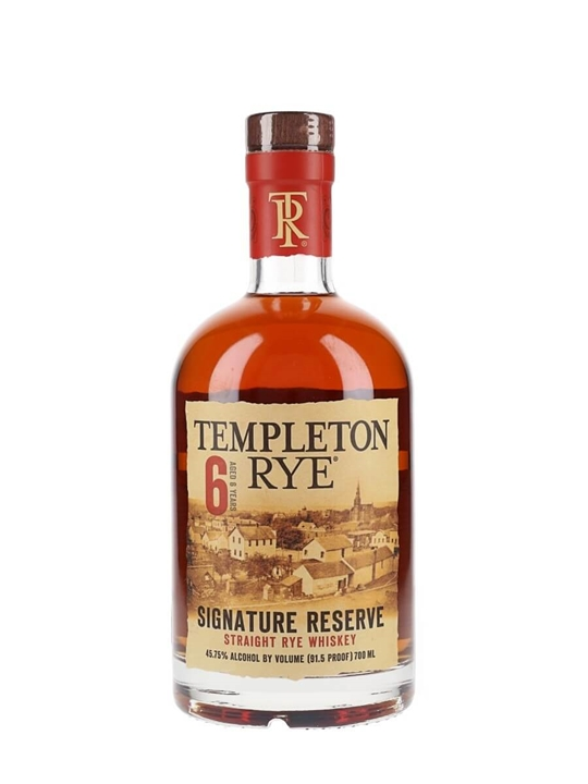 Templeton Rye Signature Reserve / 6 Year Old Rye Whiskey