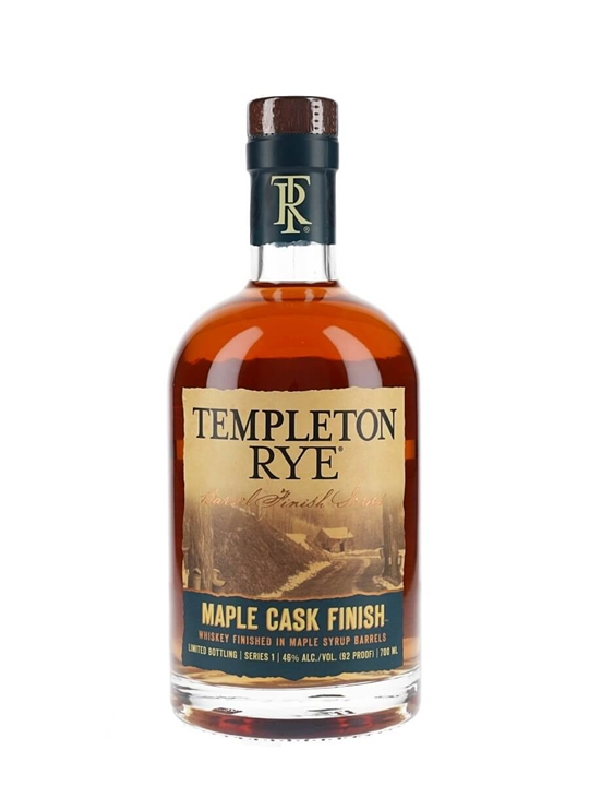 Templeton Rye Maple Cask Finish Rye Whiskey