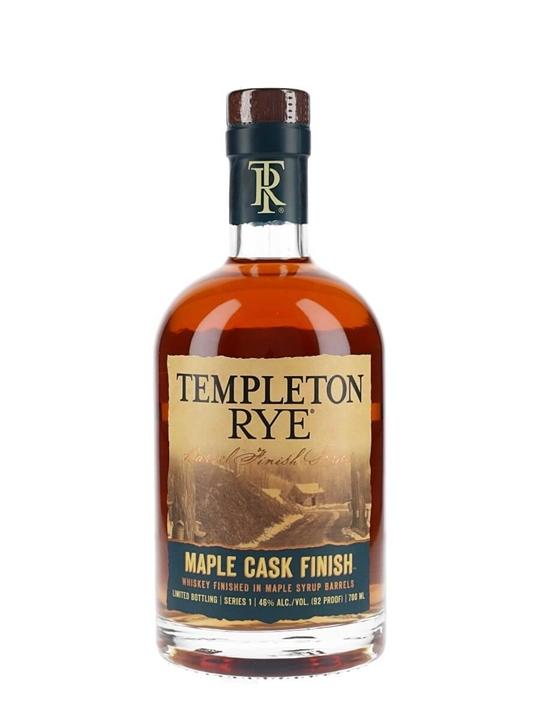 Templeton Rye Maple Cask Finish Rye Whiskey