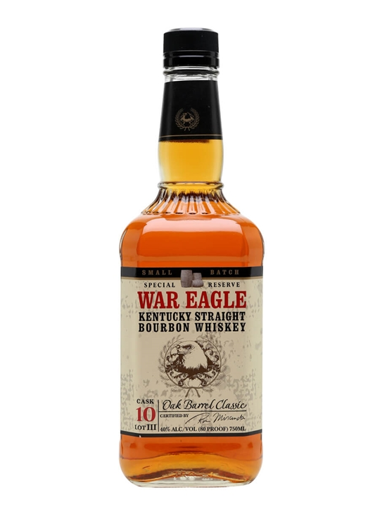 War Eagle Whiskey Kentucky Straight Bourbon Whiskey