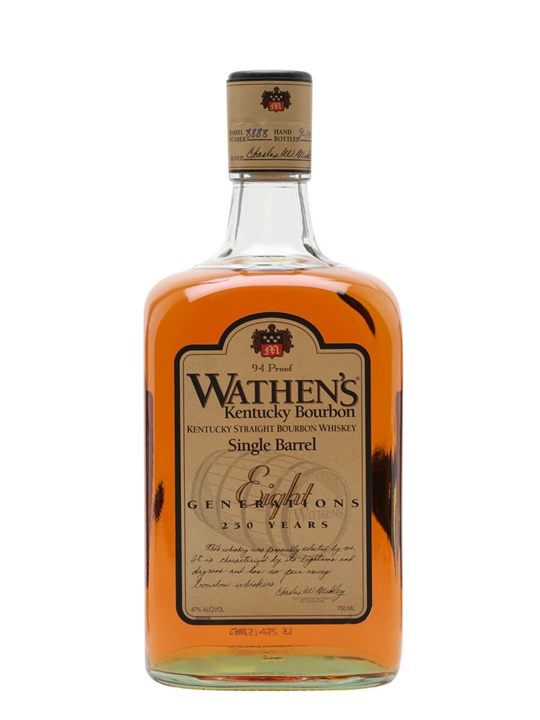 Wathen's Single Barrel Bourbon Kentucky Straight Bourbon Whiskey
