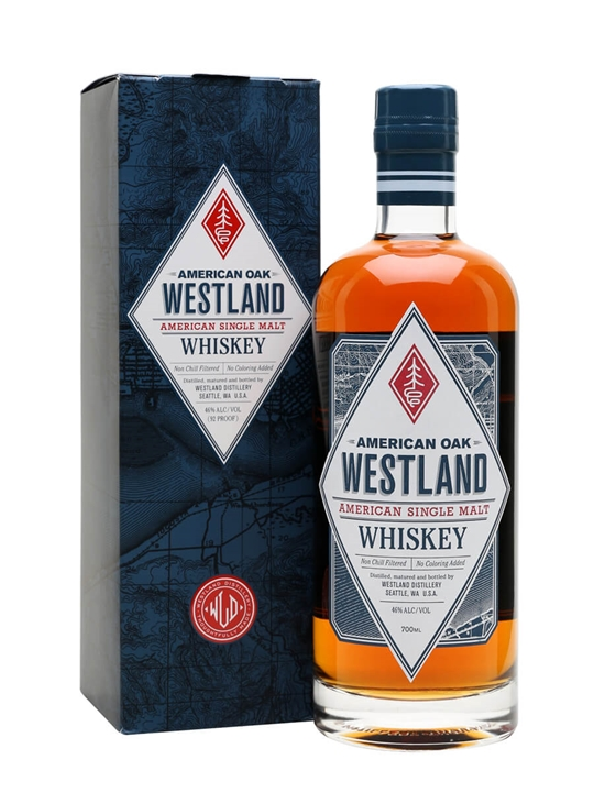 Westland American Oak Single Malt American Single Malt Whiskey