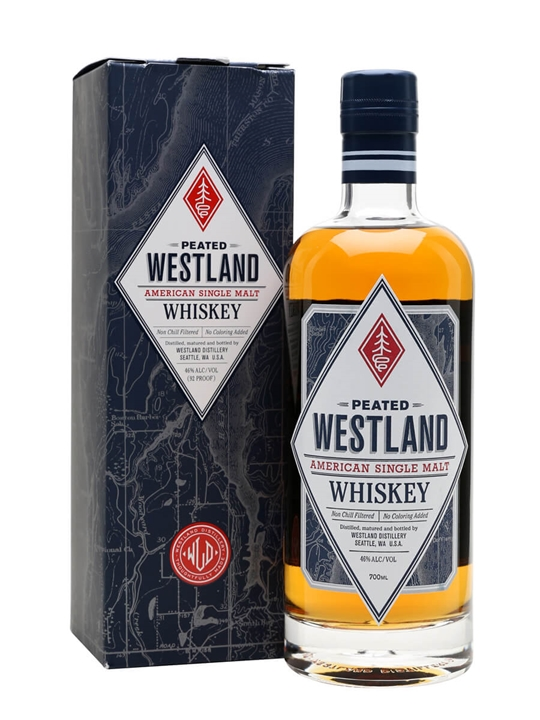 Westland Peated Single Malt American Single Malt Whiskey