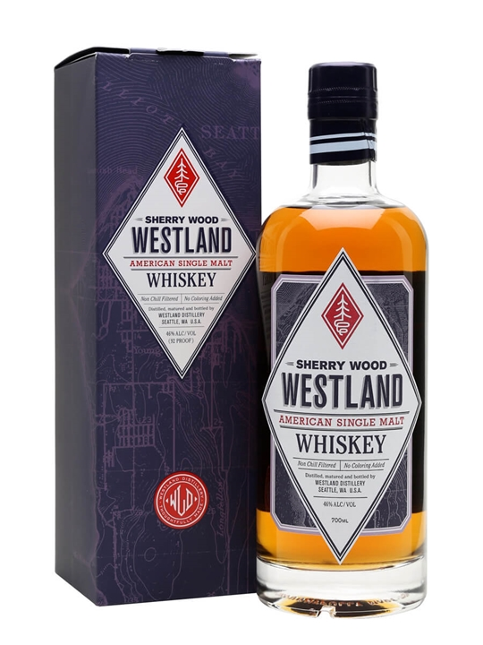 Westland Sherry Wood Single Malt American Single Malt Whiskey