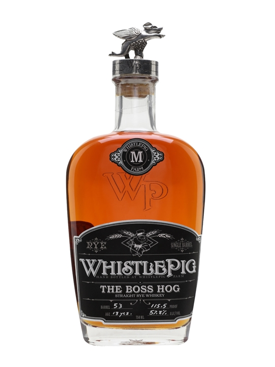 Whistlepig The Boss Hog / 13 Year Old Straight Rye Whiskey