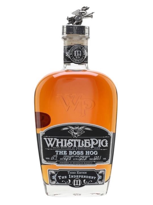 Whistlepig 14 Year Old / Boss Hog 2016 / The Independent