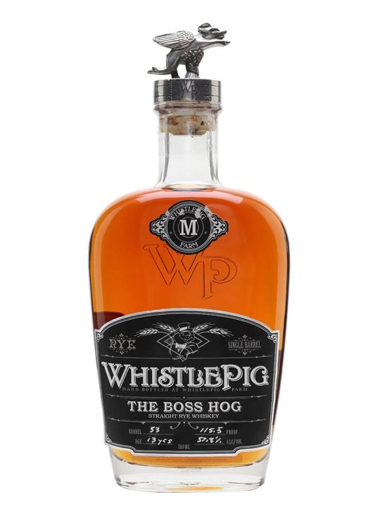 Whistlepig Boss Hog 2014 /13 Year Old / Spirit Of Mortimer