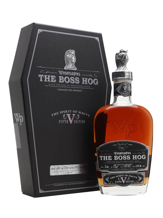 WhistlePig The Boss Hog V The spirit of Mauve Straight Rye Whiskey