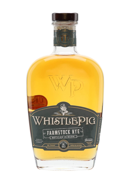 WhistlePig Farmstock Rye Crop 003 Straight Rye Whiskey