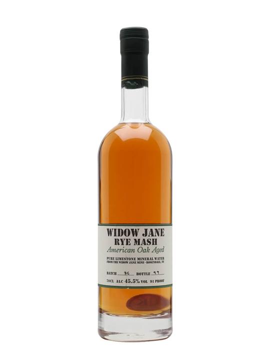 Widow Jane Rye Mash Rye Whiskey