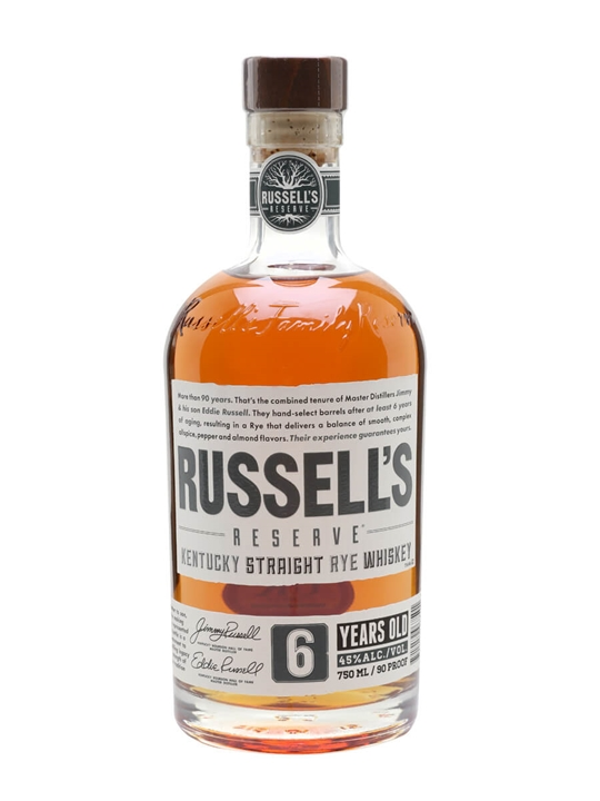 Wild Turkey Russell's Reserve Rye 6 yrs Kentucky Straight Rye Whiskey