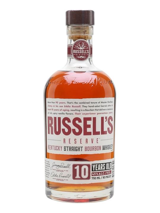Wild Turkey Russell's Reserve Bourbon 10 Year Old