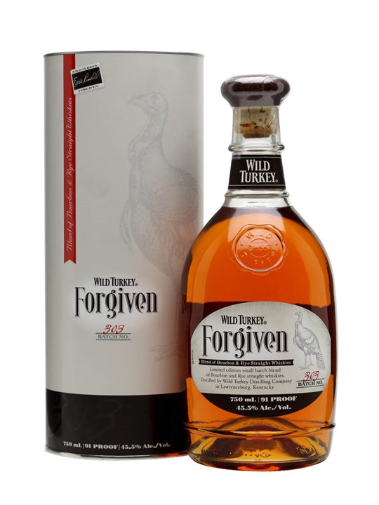 Wild Turkey Forgiven Bourbon and Rye
