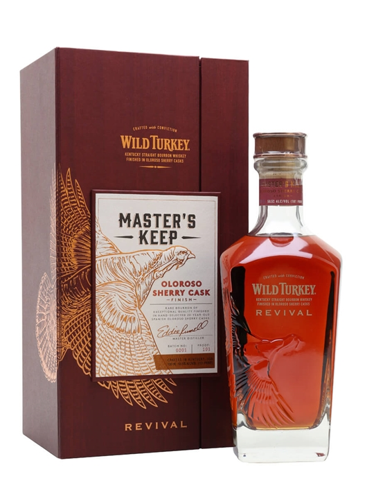 Wild Turkey Master's Keep Revival Kentucky Straight Bourbon Whiskey